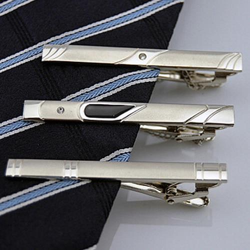 Elegent Store 2016Multi Styles Gentleman Silver Metal Simple Necktie Tie Clip Bar Pin 77IH 89EW