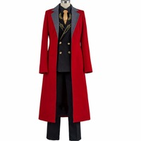 japanese anime FGO Fate Grand Order Karna Cosplay Costumes Uniform mens prince gentleman Outfit