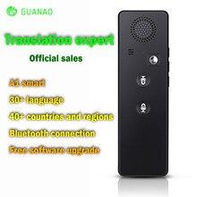 Smart Bluetooth Language Translator Portable Multi-language Intelligent Voice Instant de voz simultaneo