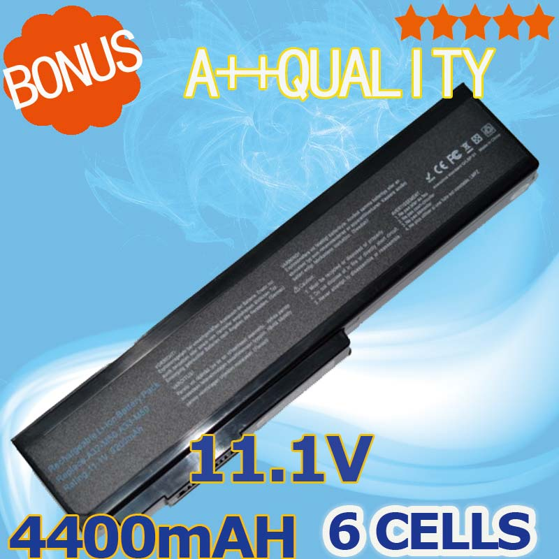 4400mAh Laptop Battery For Asus N61 N61J N61D N61V N61VG N61JA N61JV N53 A32 M50 M50s N53S N53SV A32-M50 A32-N61 A32-X64 A33-M50 rc airplane 1 75in 48mm d48 h17 3mm rubber wheel with cnc aluminum hub