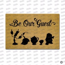 Entrance Floor Mat Non-slip Doormat Be Our Guest indoor funny doormat for entrance door outdoor