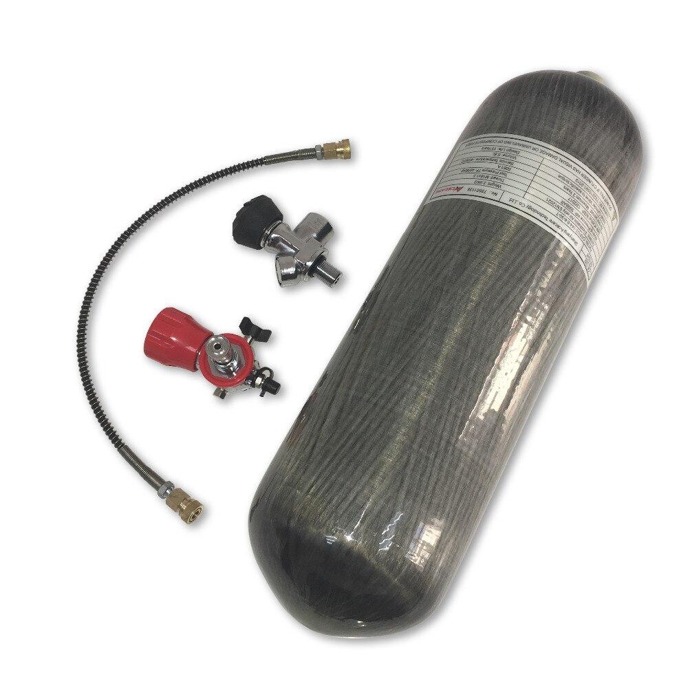 AC168301 Bottle Air Gun Paintball 6.8l Pcp Airsoft Hunting Airforce Condor Breathing Balloon For Diving Compressed Air Gun 5 5