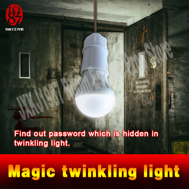 New Real Room Escape Prop Puzzle Lights  Live Escape Find Out Password In Twinkling Light Flashing Light Find Out Clues In Light