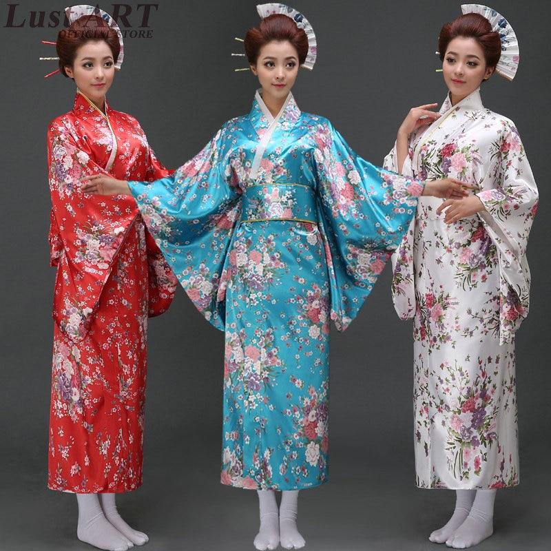 Nouveau design kimono robe traditionnelle japonaise kimonos dames élégant japonais traditionnel robe japonaise femme kimono AA263