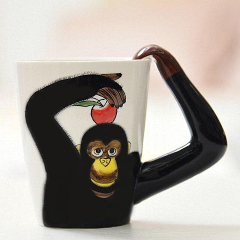 3D animal shape Ceramic coffee Mug 1