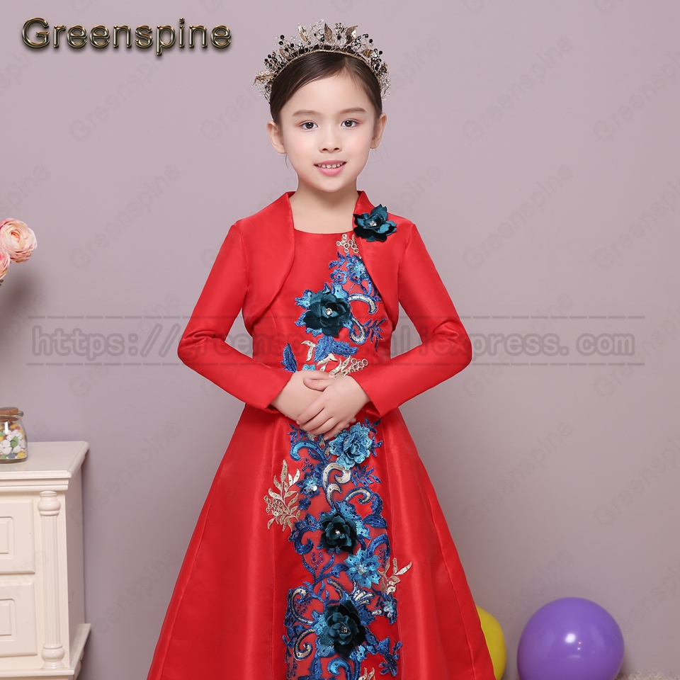 Kinder kleid mit bolero