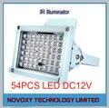 Envío Libre 50 m/164pies Impermeable LLEVÓ La Lámpara IR Iluminador para la Cámara de CCTV Noche Aplicación