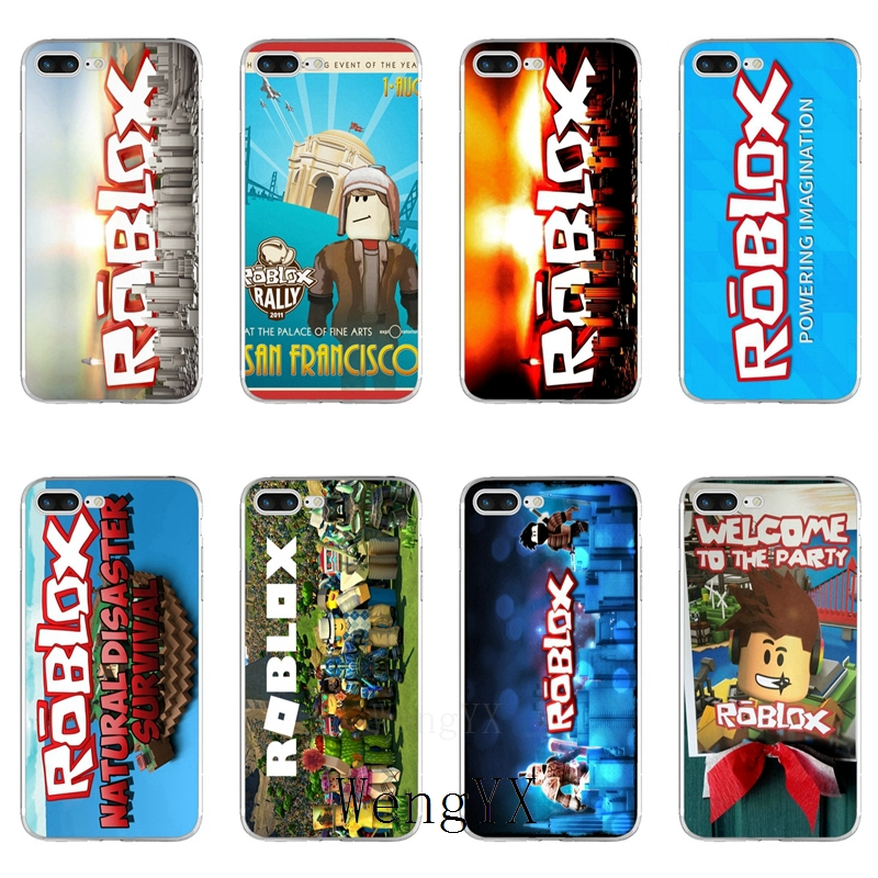 US $1 99 |popular Game ROBLOX logo Slim silicone TPU Soft phone case For  Xiaomi Redmi 3 3s 4 4A 4x 5 plus pro Note 3 4 5 5A-in Half-wrapped Cases  from