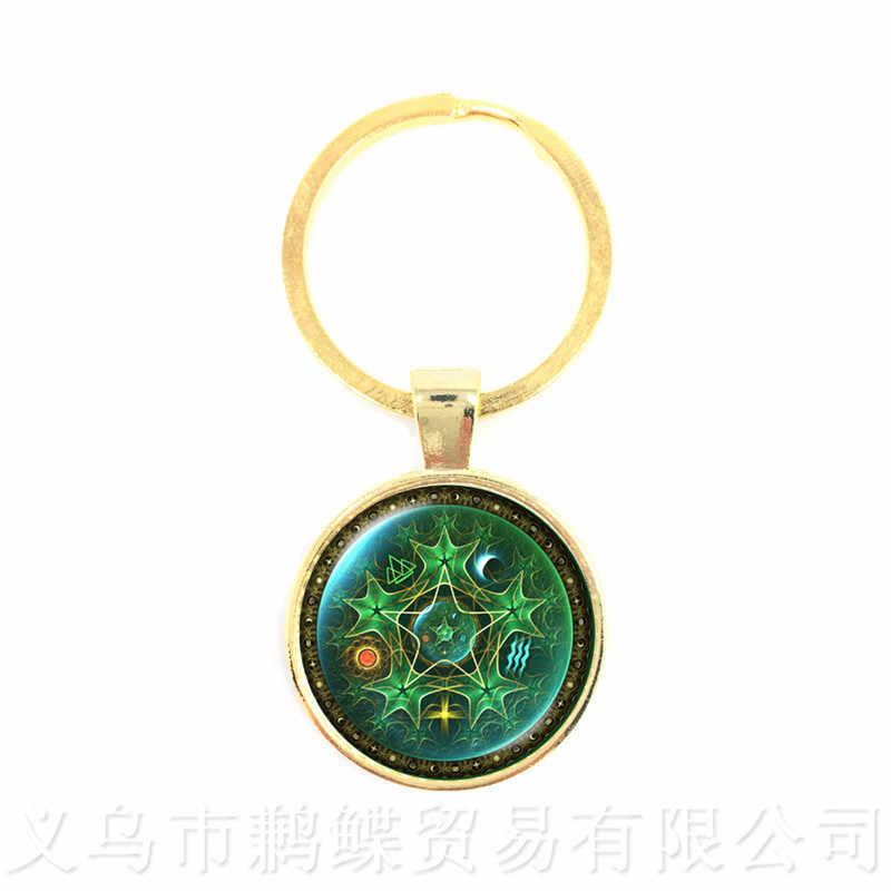Triplo Da Deusa Da Lua Pentagrama Wicca Magia Homens Lua Colar Amuleto Talismã Talismã Tibetano Do Vintage Jóias Presente Para A Família