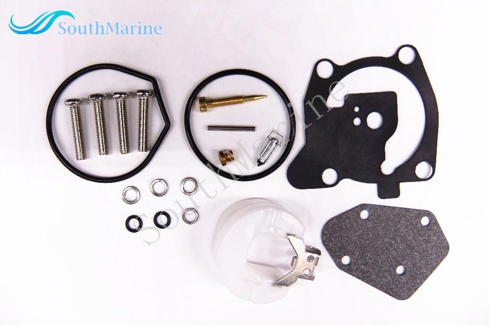66T-W0093-00-00 Boat Engine Carburetor Repair Kit For Yamaha 40HP Outboard Motor E40X