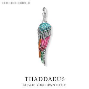 Thaddaeus Pendant 925 Sterling Silver Jewelry Women Lucky