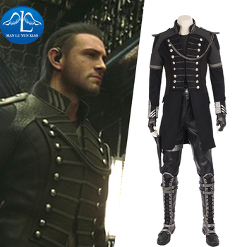 MANLUYUNXIAO Final Fantasy XV Cosplay Noctis Lucis Caelum Cosplay Costume Men Halloween Costumes For Adult Full Set Custom Made цена 2017