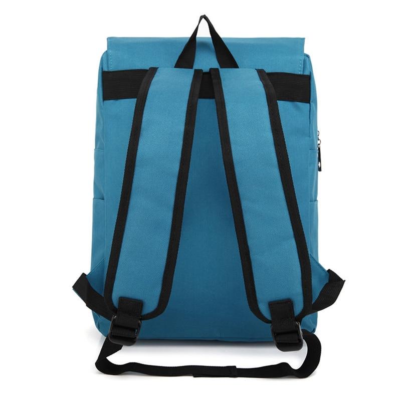 Fashion Canvas Bag Backpack Women Leisure Travel Rucksacks for Girls Teenager Cool Contrast Color Preppy Student School Bag
