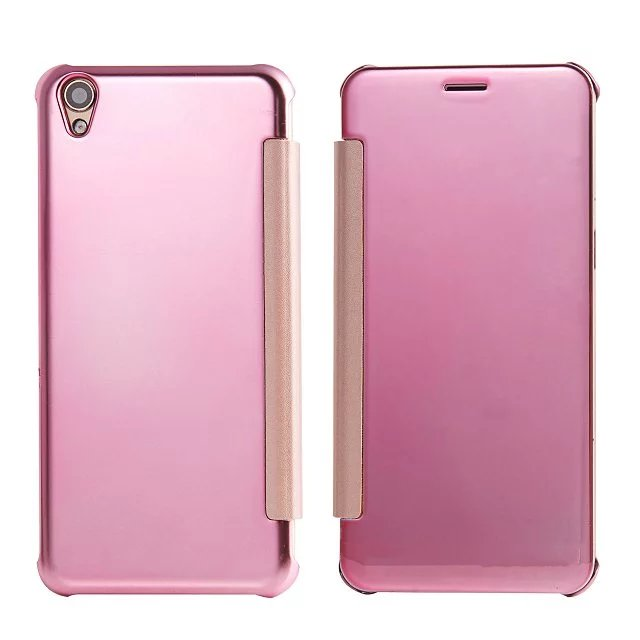 new product 3c99d 8e8e2 US $6.99 |( OPPO F1 Plus ) Case Luxury Original Mirror View Window Smart  Flip Case Cover For OPPO R9 Mobile Phone Bags Cases Coque-in Flip Cases  from ...