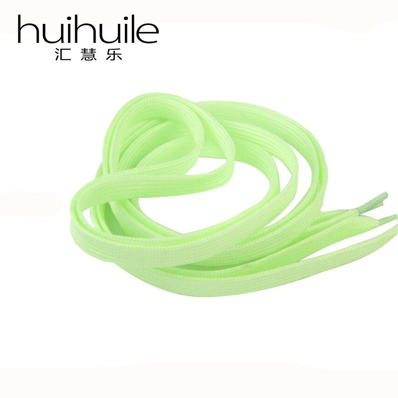 High Quality New Design 100cm One Pair Sneaker Sport Shoes Lace Polyester Neon Color Luminous Fashion Shoelaces Free Shipping
