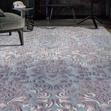 Romantic 3D pattern wedding carpet ,big size luxury wool thicken handmade living room rug, home decoration