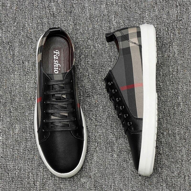 Chaussure Lona blanco Casuales Los De Homme Ocasionales Respirables Negro Hom Zapatos 2019 Fábrica La Para Caminar Hombres U8Urn