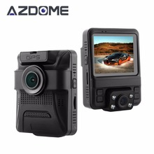 Azdome GS65H Original Mini Dual Lens Car DVR 2.4″ Novatek 96655 Car Camera 1920x1080P Full HD Dash Cam Night Vision G-sensor