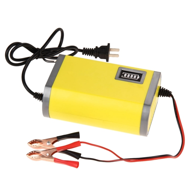 12V 6A Motorcycle Car Auto Battery Charger 12V Motorcycle Battery Charger Power Supply Car Charger