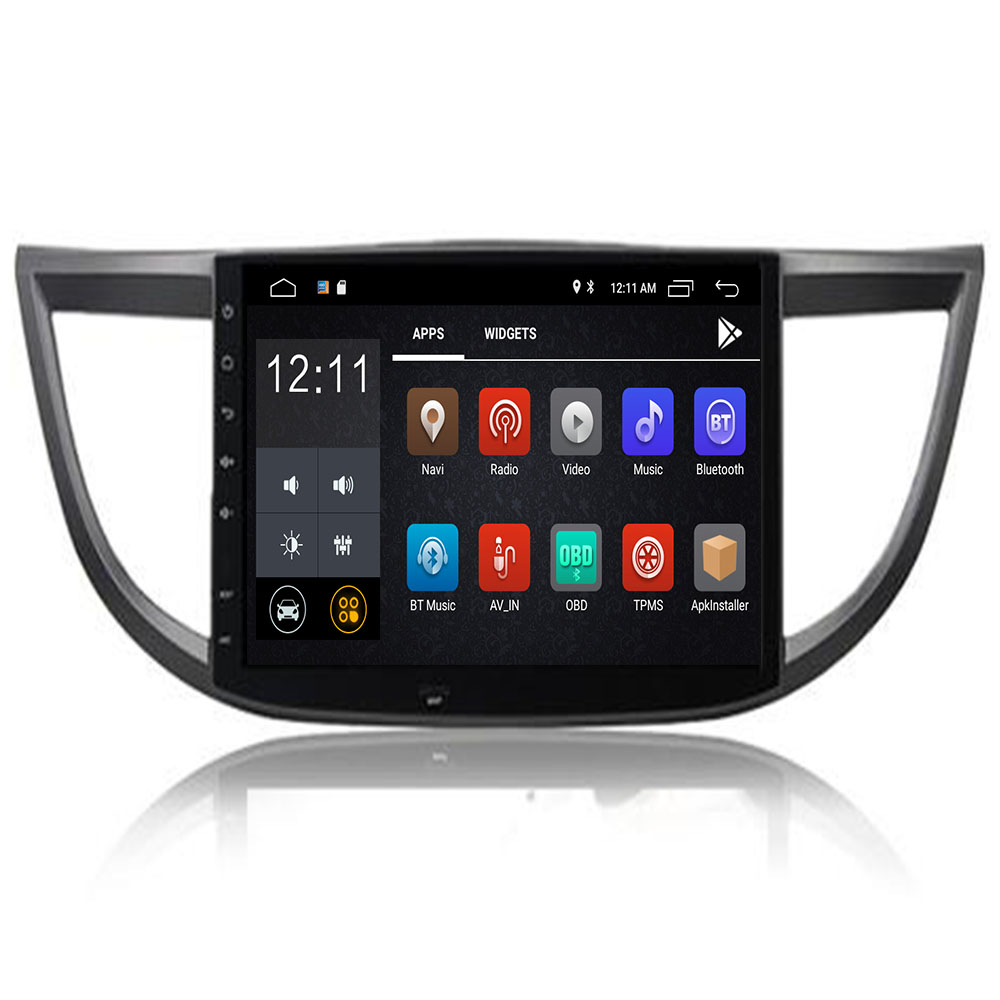 10.2 inch Octa Core Android 9.0 Car DVD Player Navigation <font><b>GPS</b></font> Fit <font><b>Honda</b></font> <font><b>CRV</b></font> 2012 <font><b>2013</b></font> 2014 2015 16 TV 4G Radio Stereo Head Unit image