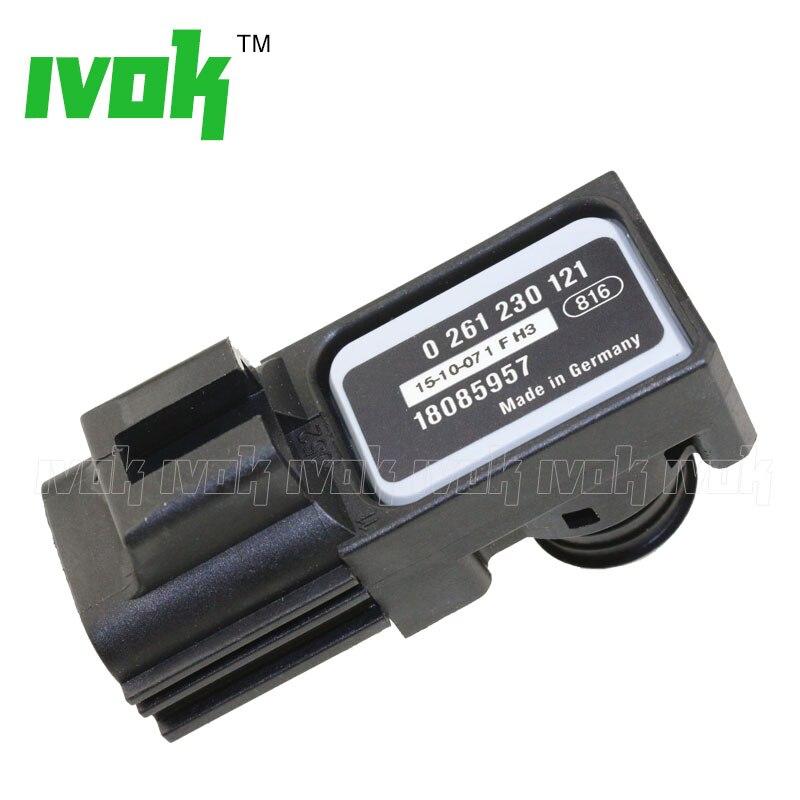 Power Steering Brake Booster Vacuum Sensor Intake Absolute Pressure MAP For BUI CHEVY GMC ISUZU PONT 0261230121 18085957