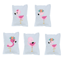 Flamingos Theme Small Pillow Supplies Birthday Party Supplies Decoration Supplies Upholstery Children's Room Decoration flamingos