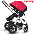 New arrivel high quality baby stroller suspension folding light baby car four wheel baby car two-way