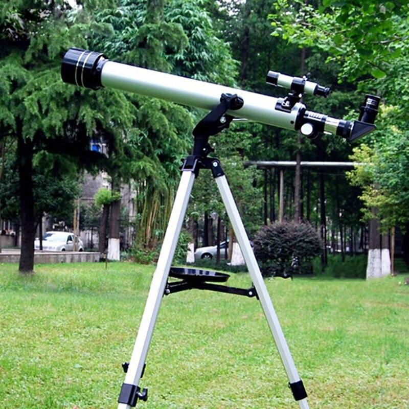 1 set Qualité F60700 de Réfraction 525 X Zoom Télescope Astronomique (700/60mm) télescope monoculaire pour L'observation Astronomique