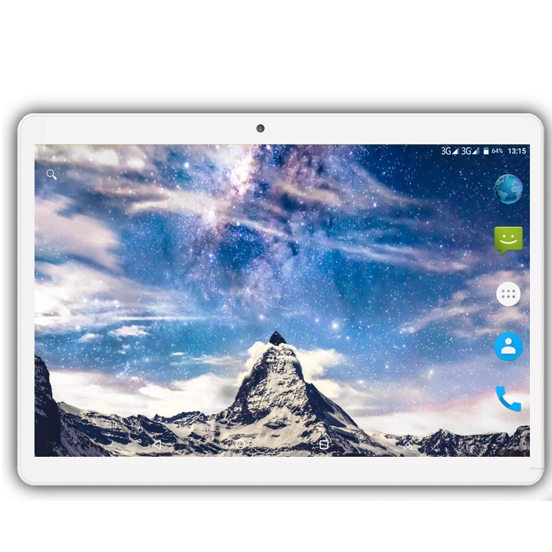 Android 9.0 The Tablet 8 Core Ram 6GB Rom 64GB 3G 4G LTE 1280 800 IPS 5.0MP SIM Card Ips Tablet 10.1 Inch Tablette Pocket PC