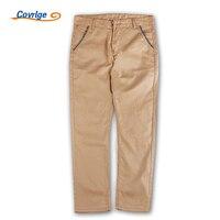 Covrlge Casual Men Pants Brand Fashion Pants With Pockets For Men Solid Color Cotton Men S