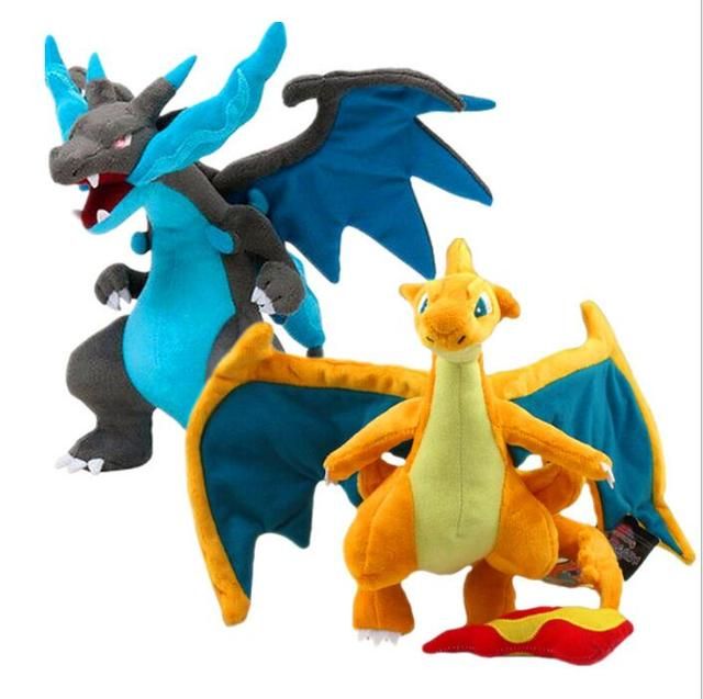 Pokemon pet elf Charizard XY doll plush toy 2