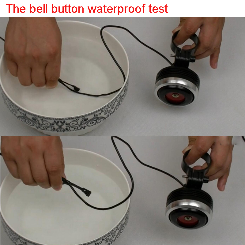 prova dwaterproof água mtb guiador da bicicleta bmx sino anel