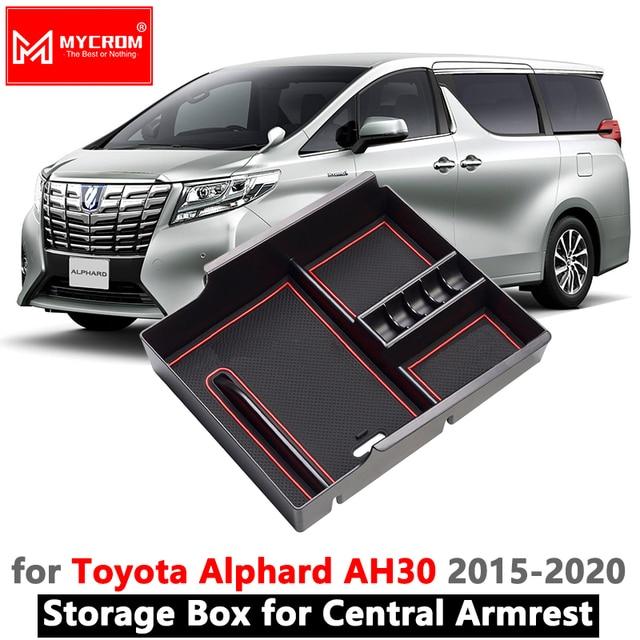 Best Armrest Box Storage Car Organizer Accessories for Toyota