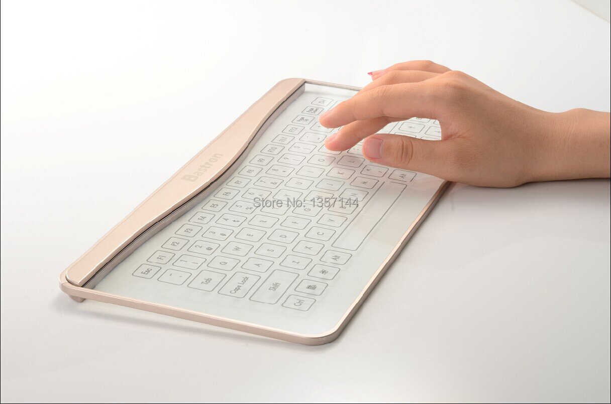 Bastron Trackpad Keyboard Glass Touch Smart Keyboard Touchpad ...