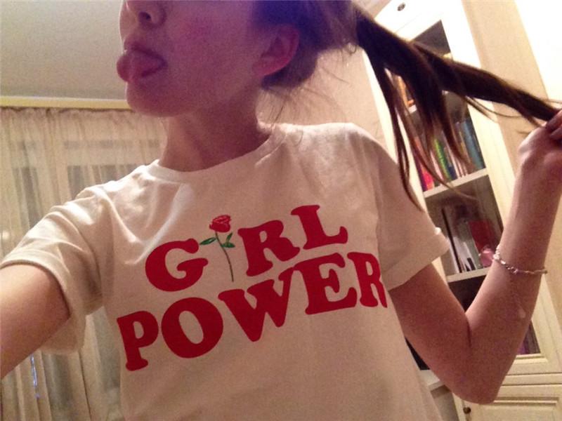 HTB1dsRuQpXXXXX XVXXq6xXFXXXK - Girl Power Tshirt Feminism Tee Shirt Unisex Cotton JKP269