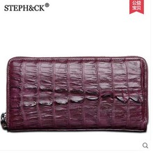 2018 shidifenni crocodile women purse lady bag crocodile real leather women clutch bag handbag of lady