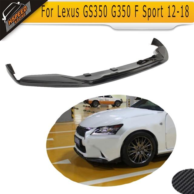Wholesale Carbon Fiber Car Front Bumper Lip Spoiler For Lexus Gs350