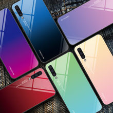 Keysion Tempered Glass Case untuk Samsung Galaxy A50 A70 A30s A40 A20e A10 A80 M20 Ponsel Cover UNTUK Samsung Catatan 10 Plus S10 S9 S8(China)
