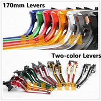 For Kawasaki Z800/E version 2013 2016 2014 CNC Motorcycle Clutch Brake 170mm Levers And Two color Lever Two Styles Hot Sale