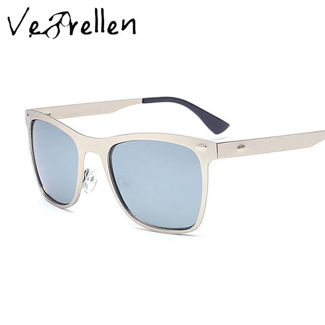 74c6c57a301 VeBrellen 2017 Fashion Aluminum Magnesium Polarized Sunglasses Men Sun  Glasses UV400 Driving Eyewear oculos Shades VJ140