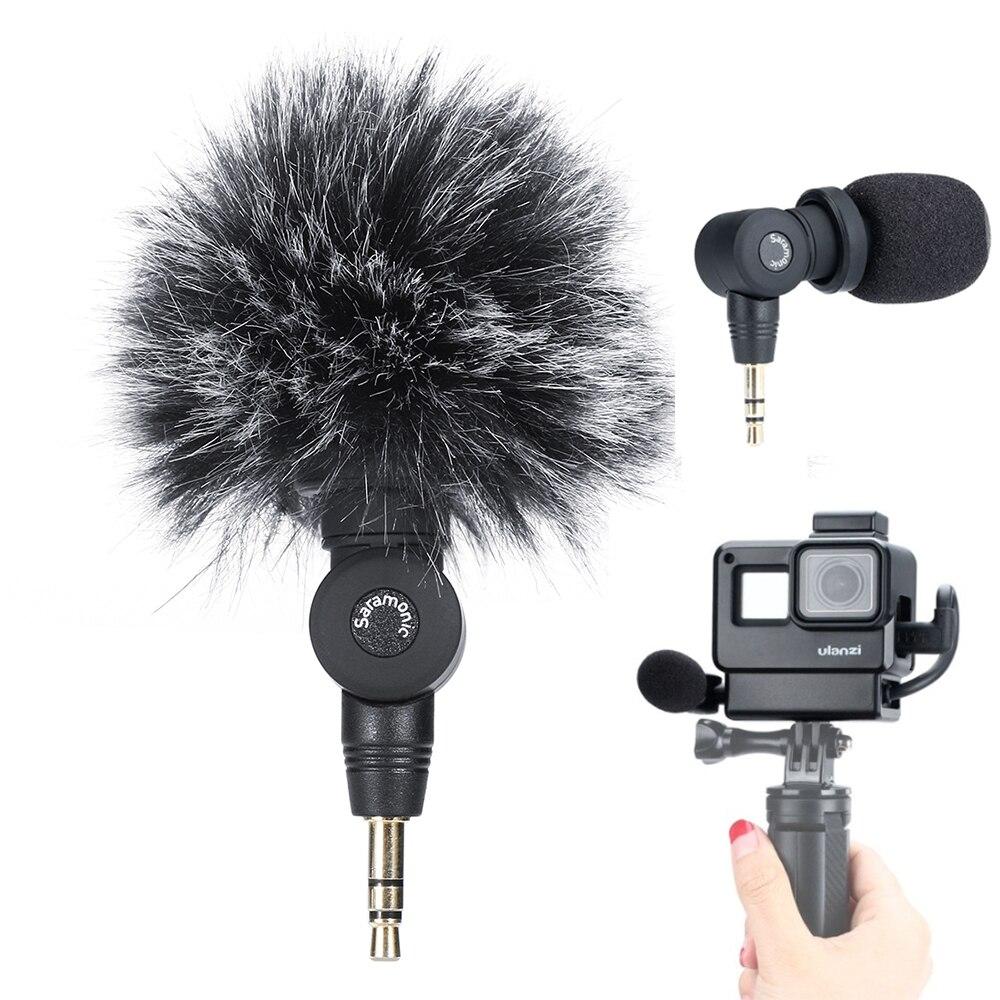 Gopro configuração vlog microfone de vídeo sem fio w ulanzi v2 sapato frio habitação caso para gopro hero 7 6 5 osmo bolso