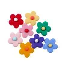 20Pcs Mixed Resin Flower Korea Xuanya Style Crafts Flatback Cabochon Scrapbooking For Earring Stud Embellishments Diy
