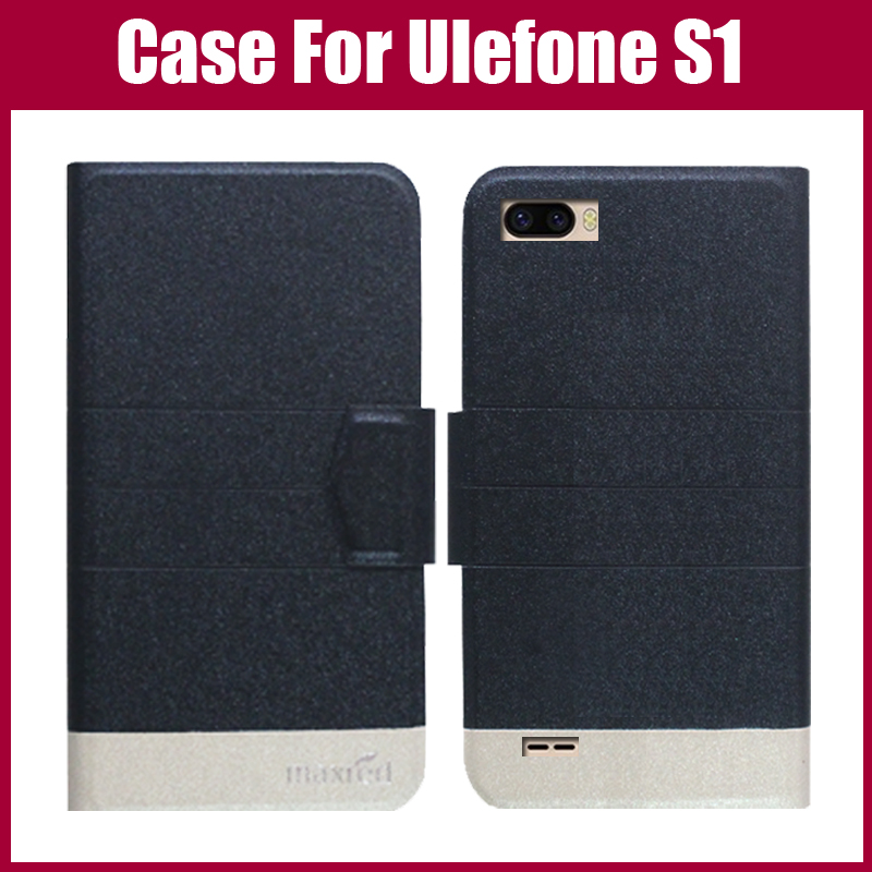 Hot Sale! <font><b>Ulefone</b></font> <font><b>S1</b></font> <font><b>Case</b></font> New Arrival 5 Colors Fashion Flip Ultra-thin Leather Protective Cover For <font><b>Ulefone</b></font> <font><b>S1</b></font> <font><b>Case</b></font> image