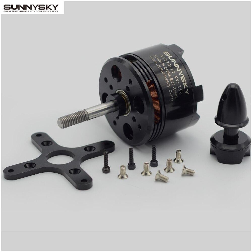 SunnySky X5320 210KV 250KV 370KV high effectiveness brushless motor for 3D stunt Drone team effectiveness