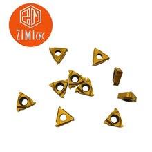 10 шт. 11IR A60 BP010 лезвие карбида вставки для резьбового Расточного инструмента