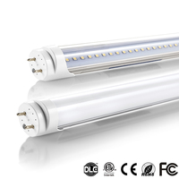 FEDEX Free Shipping 1200mm 20w 22w 4ft led fluorescent tube light 110v 220v t8 led tube light