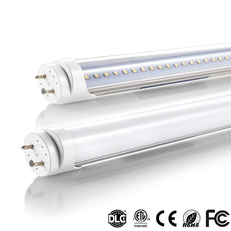 T8 a mené la lumière de tube 1200mm 20 w 22 w 4ft smd2835 tube fluorescent led 110 v 220 v FEDEX livraison gratuite a mené le tube t8