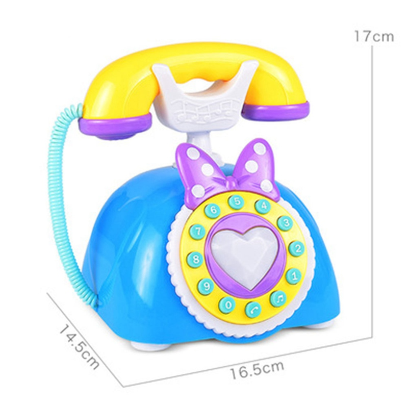 Childrens Educational Early Childhood Learning Machine Simulation Princess Telephone Play Toys Funny Games