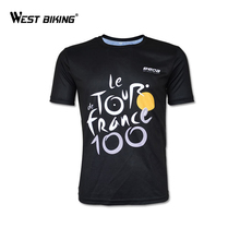 Cycling Jersey 2017 Tour de France Short Breathable Bike Jersey Quick Dry Bicycle Clothing T-Shirt Maillot Ciclismo Bike Jerseys(China)