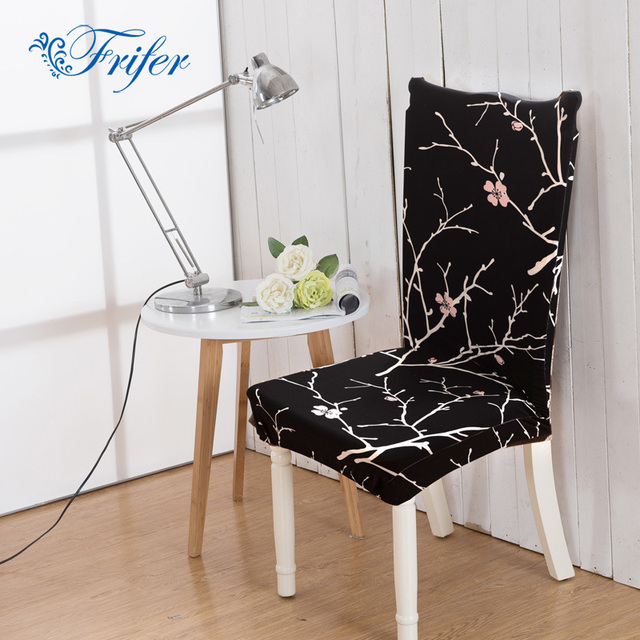High Elastic Dining Chair Covers Spandex Stretch Room Kitchen Stain Proof Protector Cover For